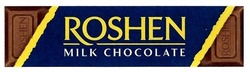 milk chocolate; roshen