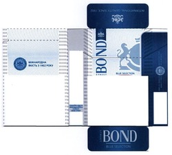 international quality since 1902; bond street; міжнародна якість з 1902 року; blue selection