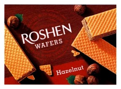 roshen wafers; created with passion; made with expertise; hazelnut