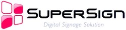 digital signage solution; supersign