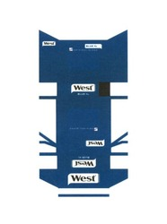 original blend; west; blue xl
