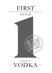 premium vodka; first guild