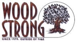 outside of time; since 1979; wood strong
