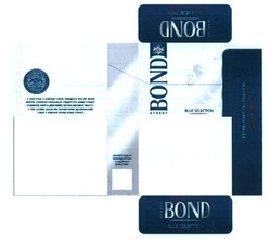 Свідоцтво торговельну марку № 232181 (заявка m201606875): bond street; blue selection; establised in london by philip morris; quality since 1902