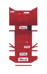original blend; west; red xl