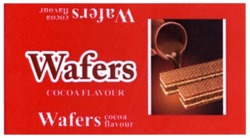 wafers cocoa flavour