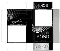 Заявка на знак для товарів і послуг № m201908262: bond street; double mix; international quality since 1902; trusted quality in every pack; premium mix of tastes