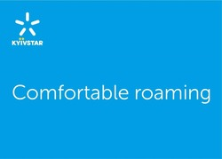 kyivstar; comfortable roaming