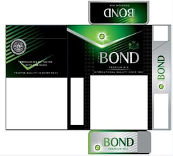 international quality since 1902; trusted quality in every pack; street bond; premium mix of tastes with one click