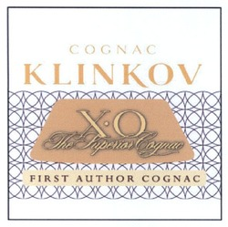 xo; cognac klinkov; x.o; хо; the superior cognac; first author cognac; х.о