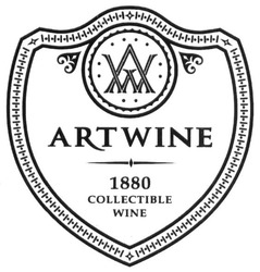 avv; 1880 collectible wine; aw; art wine; artwine