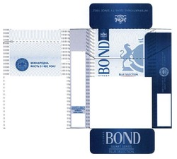 bond street; international quality since 1902; smart series; міжнародна якість з 1902; blue selection