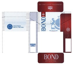 international quality since 1902; red selection; bond street; міжнародна якість з 1902
