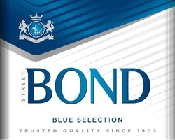 trusted quality since 1902; street bond; blue selection