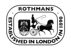 rothmans; established in london in 1890