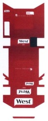 west; original blend; red