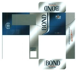 quality since 1902; bond street; silver №4; established in london by philip morris