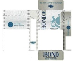 international quality since 1902; bond street; міжнародна якість з 1902; silver selection