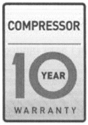 compressor; warranty; 10 year