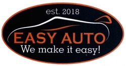 est 2018; est.2018; we make it easy!; easy auto
