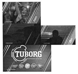 tuborg; touch; live; create; party; different colors