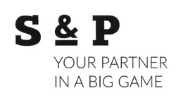 sp; s&p; your partner in a big game