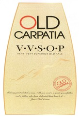 Заявка на знак для товарів і послуг № m201814373: old carpatia; vvsop; v.v.s.o.p; making great alcohol is easy; all you need is a great-grandfather and a father who have dedicated their lives to it; jean paul camus; very very superior old pale