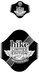 premium winter beer; edition; limited; hike