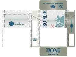 international quality since 1902; bond street; 25 silver selection; міжнародна якість з 1902 року