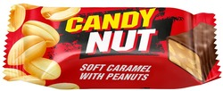 soft caramel with peanuts; candy nut