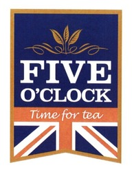five o'clock; time for tea