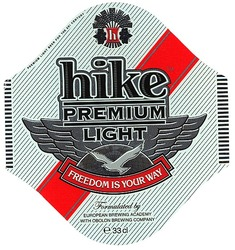 freedom is your way; premium; hike; light