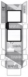 Заявка на знак для товарів і послуг № m201920101: marvel compact 25 silver; made under authority of marvel international tobacco group; high quality imported tobacco; american flavor; turbo filter; м