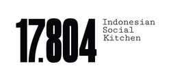 17804; 17 804; 17.804; indonesian social kitchen