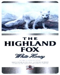 настоянка; the highland fox; white honey