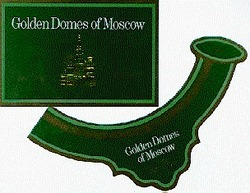 golden domes of moscow