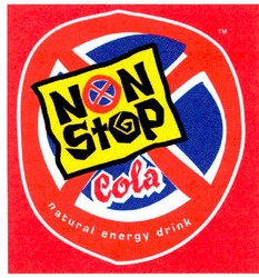 cola; non stop; natural energy drink
