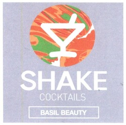 shake cocktails; basil beauty