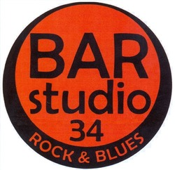 bar studio 34; rock&blues