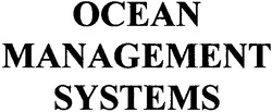 systems; management; ocean