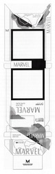 Заявка на знак для товарів і послуг № m201920095: marvel silver super slims; made under authority of marvel international tobacco group; high quality imported tobacco; american flavor; turbo filter; м