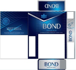 premium blue; imported tobacco&recessed plus filter; trusted quality in every pack; international quality since 1902; street bond