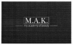 мак; mak; my academy of beauty; m.a.k.; м.а.к.