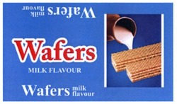 wafers milk flavour
