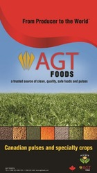 Заявка на торговельну марку № m201912260: agt foods; from producer to the world; a trusted source of clean, quality, safe foods and pulses; canadian pulses and specialty crops; made with pulses; www.agtfoods.com; www agtfoods com