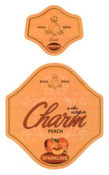 peach; це твій шарм; sweet; royal drink; sparkling; charm