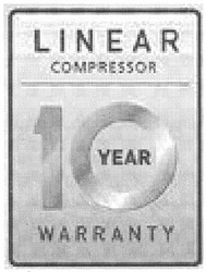 warranty; 10 year; linear compressor