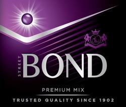 trusted quality since 1902; premium mix; street bond