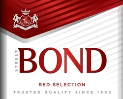 red selection; trusted quality since 1902; street bond